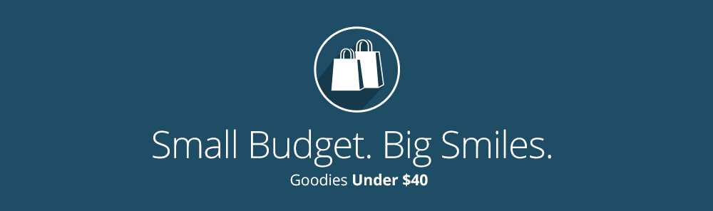 Shop unique Holiday gifts under $40 for small budgets.